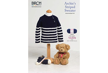 Archies Striped Sweater Library